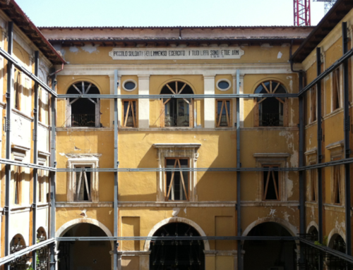 """De Amicis"" Schoolhouse, L'Aquila – Retrofitting Design"