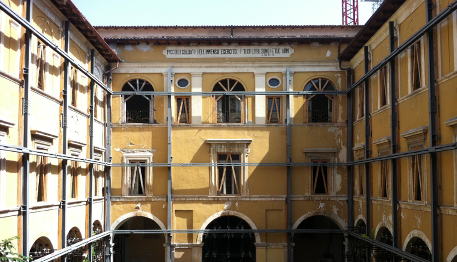 """De Amicis"" Schoolhouse, L'Aquila – Retrofitting Design"