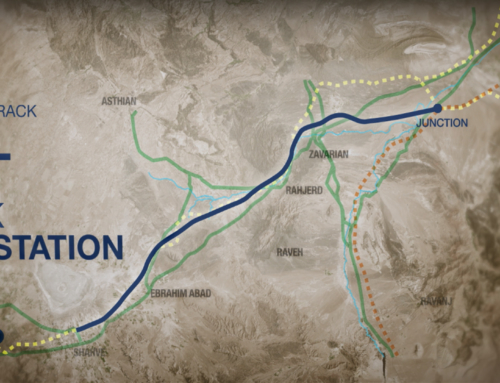 Preliminary design of Qom-Arak High Speed Railway Line