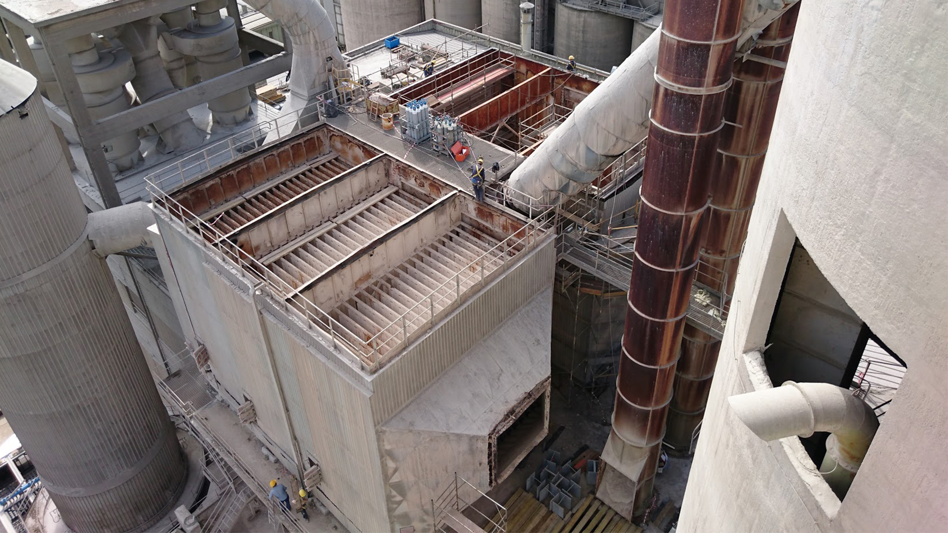 Spoleto cement production plant