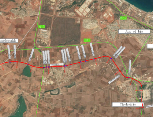 Railway Line Mefsoukh-Mohammadia